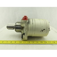 """Parker 780-0280-270-000 Hydraulic Torqmotor 32mm Output Shaft -10-5/8""""-14 Ports"""