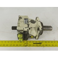 Rexroth MCS3 D315 L40Z Hydraulic Motor 40mm Keyed Thru Shaft 12T Spline