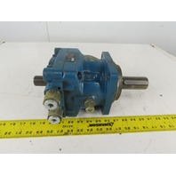 Rexroth MCS 3 D315L40Z-21/B08M Hydraulic Motor 40mm Keyed Thru Shaft 12T Spline