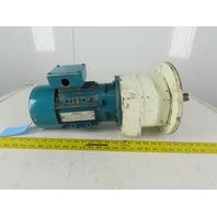 Brook Hansen SCF24C 3/4Hp 208-230/460V 3Ph 100:1 Ratio Gear Motor 14.3RPM Output