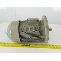 Siemens 1LA7107-4AA61 3.45kW 1720RPM 440-480V 50/60Hz 3Ph AC Motor