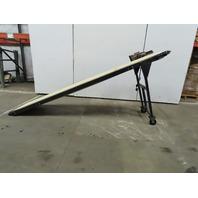 """24""""W x 120""""L Smooth Belt Slide Bed Conveyor 115V 1Ph 33FPM"""
