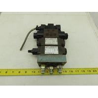 Nachi SL-G01-C6-R-C1-30 Hydraulic Solenoid Valve Check Regulator Assembly 110V