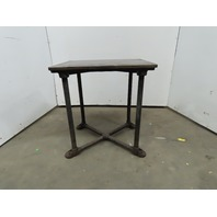 "1"" Thick  Cast Iron Top 24""x30-3/4""x32-3/4"" Welding Table Work Bench"