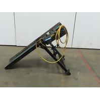 """Slider Bed Conveyor 58""""x12"""" Wide Belt 115V 32FPM 35-1/2"""" Tall"""