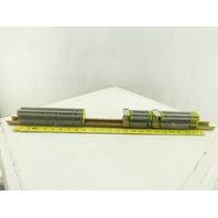 Kema Keur Typ UK4 600V25A 28-12AWG Single Pole Wire Terminal Blocks Lot Of 54