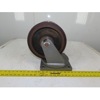 "Rader Vogel 10"" x 6"" Swivel Double Twin Wheel Caster Heavy Duty 6400Lbs Capacity"