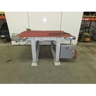 "Wardcraft HVG5400-5 54"" x 86"" 18FPM 208-230/460V 3Ph 1/2Hp Slider Bed Conveyor"