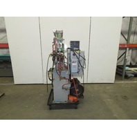 "Taylor Winfield 480V 200VA Clamp Resistance Spot Welder Water Cooled  8"" Throat"