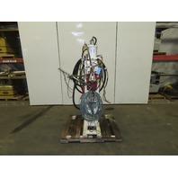 "GE Schmidt PRO1-100 480V 100KvA Single Head Pedestal Spot Nut Welder 16"" Throat"