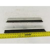 "Mink Bursten 17-3/4"" Nylon Bristle Brush Strip 1-1/2"" Wide Lot Of 2"