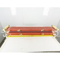 "Panasonic YB-L200A8Y3E Water Cooled CO2 Laser Oscillator Cooling Unit 48"""