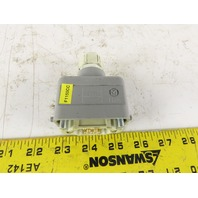 Harting 10 Pin Male Electrical Connector Lever Lock