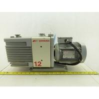 Edwards A655-01-905 RV12 115V 1Ph 50/60Hz Rotary Vane Pump