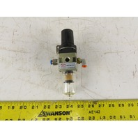 "Clippard MMFRS-2Q 1/4"" NPT Airline Filter Regulator"