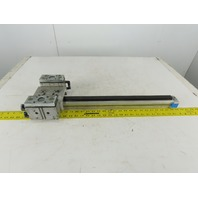 Festo DGPL-25-500-PPV 50mm Stroke Linear Rodless Drive Unit W/ Guided Actuators