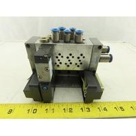 Festo VIMP-MINI-1/8-4-SA Pneumatic Valve Terminal MYH-5/2-2 3-LED-SA 24VDC