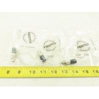 Festo KABS-M9-R100 175403 Terminating Resistor Lot Of 3