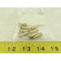 Festo KDV-PK-4 208380 3.4mm Terminal Plug For 6mm Hose Lot Of 9