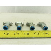 Festo One Way Flow Control Valve 8mm Tube M10 Taper Proof Lot Of 4