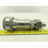 "Parker SSH8-62 Hydraulic Quick Coupling 1"" BSPP Stainless Steel"