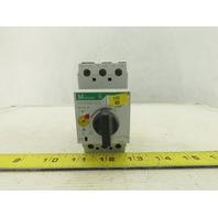 Moeller PKZM0-6.3 600V Motor Starter Circuit Breaker 4-6.3A Trip Range
