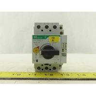 Moeller PKZM0-1 600V 3Ph 1/2Hp Motor Starter Circuit Breaker 0.63-1.0 Trip