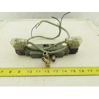 Bosch 0820034991 5/3 Position Double Solenoid Pneumatic Valve 48V Coil