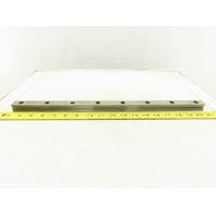 "Homag 18.75mm Linear Guide Profile Rail Homag Edge Bander 18-1/8"" OAL Lot Of 2"