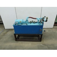 Tuthill 4C1F-C 2Hp 22.6GPM 56USG Capacity Hydraulic Power Unit 208-230/460V