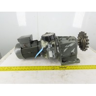 Lenze GT/30392364 31.5:1 Ratio 59-10 RPM Variable Output Gear Motor 2.20kW