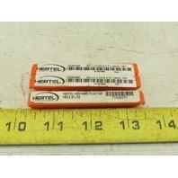 Hertel M3X.5 D2 HSS Hand Plug Thread Cutting Hand Tap Lot of 3