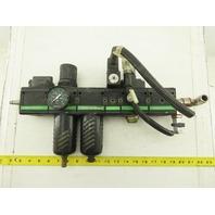 "Bosch 0821300914 1/2"" Air Filter Regulator Lubricator Valve Assembly"