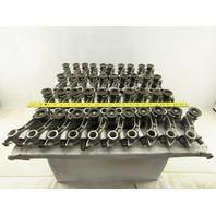Homag Optimat KL73/A3 Edge Bander Top Pressure Rollers & Springs Lot Of 40