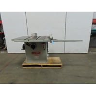 "Cantek Canta 1214 14"" Tilt Arbor Table Saw Fence 53"" Runout 10Hp 230/460V"