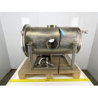 45 Gal Stainless Steel Sanitary Clean Out Vessel Filter Housing See Info