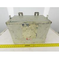 Cutler Hammer Y48G24T06N 480V Pri 240V Sec Delta/Delta Transformer 3Ph 6kVa