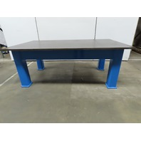 """1"""" Thick Top HD Steel Fabrication Welding Layout Table Work Bench 84x48-1/2x32"""""""