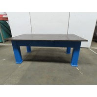 """1"""" Thick Top HD Steel Fabrication Welding Layout Table Work Bench 84""""x48""""x32"""""""