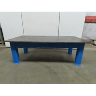 """1"""" Thick Top HD Steel Fabrication Welding Layout Table Work Bench 97""""x48""""x32"""""""