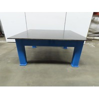 """3/4"""" Thick Top HD Steel Fabrication Welding Layout Table Work Bench 72x63x31"""""""