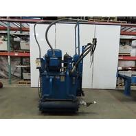 40Hp 160 Gal Hydraulic Power Unit PVP1636BRV12X2800 W/Heat Exchanger 208-230/460