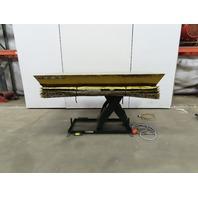 "Southworth LS2-36 2000Lb Scissor Lift Table 76x48"" Top 9-44""H 115V Single Phase"