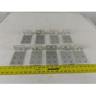 80/20 INC 30-6060 15 Ser Right Angle bracket Anodized Aluminum 6 Hole Lot of 9