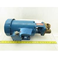 Burks T37CT7MV 3/4Hp 3Ph 208-230/460V 3450 RPM 8.3GPM Turbine Pump