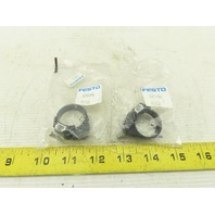 Festo 175096 SMBR-8-25 Pneumatic Actuator Accessories Mounting Bracket Lot of 2