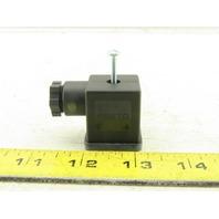 Festo 694436 Solenoid 90° Right Angle Plug
