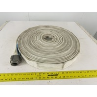 "National Fire Hose 8T15 1-1/2"" Fire Hose Rated 400 PSI Test NFPA Approved 100'"