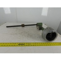 """Elox 12-3816 DR X Axis Incremental Ball Screw Hand Wheel Assembly 18"""" Travel"""