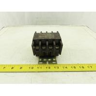 Arrow Hart ACC440U20 600V 15Hp Contactor Starter 110V Coil